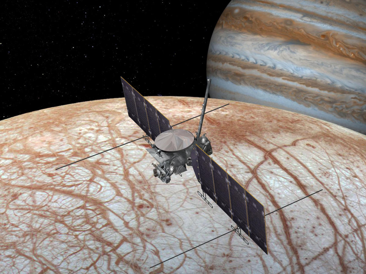 New Study Reveals Water Vapor Identified On Jupiter's Moon Europa